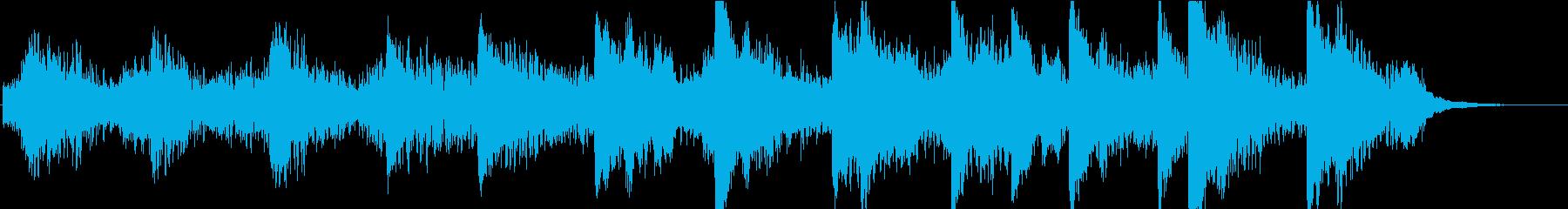 アンビエントミュージック 素晴らし...の再生済みの波形