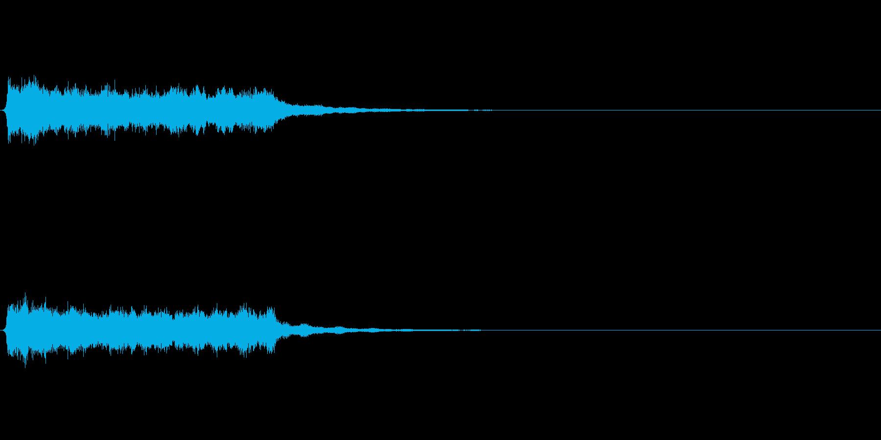 シンセ ロングトーン 幻想的の再生済みの波形