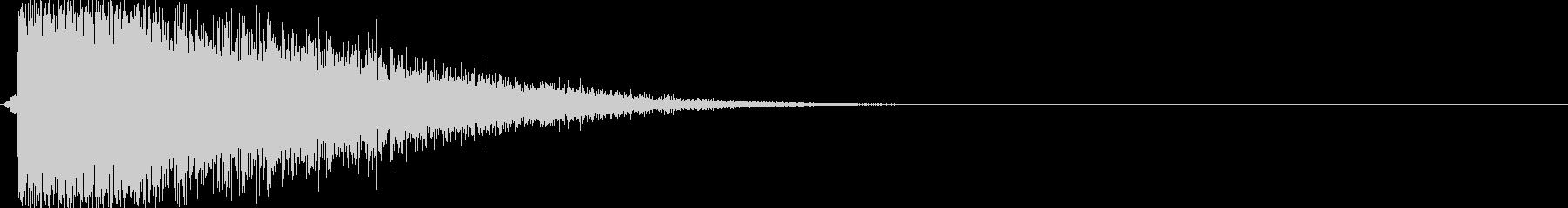 バシュイーン(シューティング、レーザー)の未再生の波形