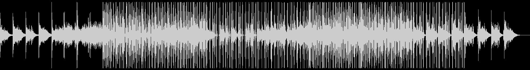 ダークなエレクトロBGM(ベース抜きの未再生の波形