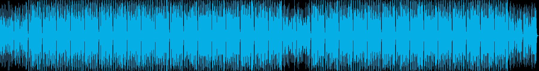 緩やかだけど力強いディスコHOUSEの再生済みの波形