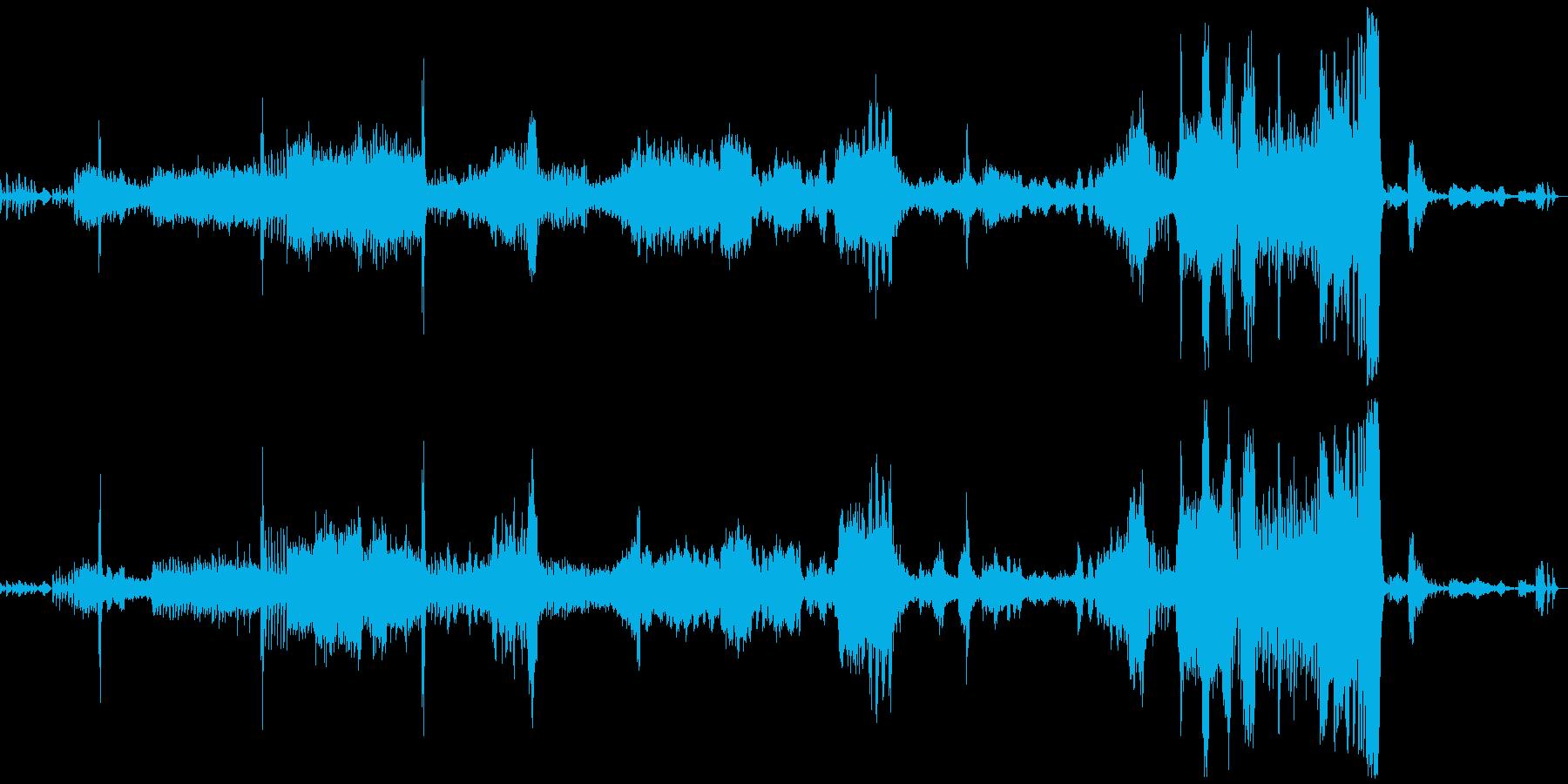 『死の舞踏』  サン=サーンスの再生済みの波形