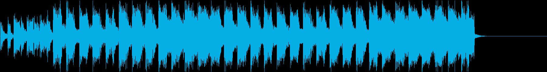 色気のあるキャラ アイキャッチの再生済みの波形