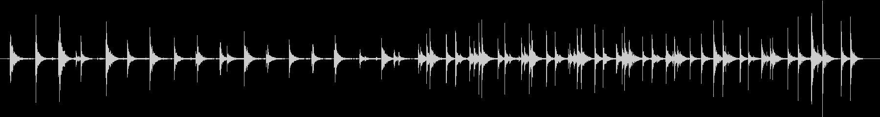 シングルタップダンサー:つま先、ダ...の未再生の波形