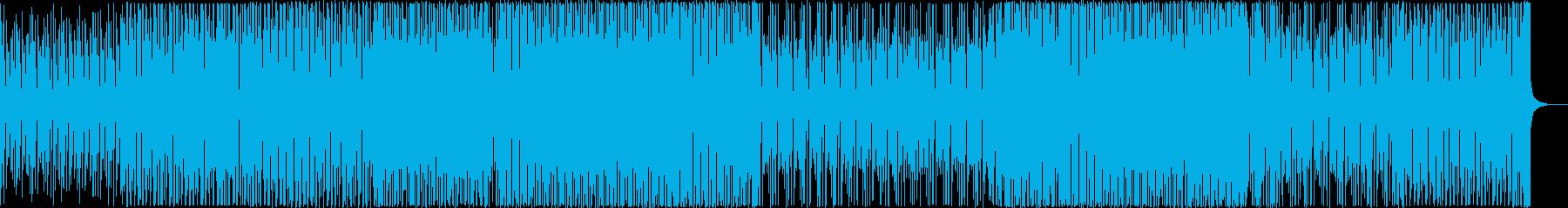 入場、オープニング、イベント向けなEDMの再生済みの波形