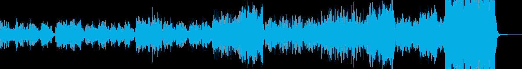 姫・ワルツ・終盤弾けるジャズへ展開 D2の再生済みの波形