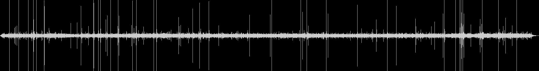 burningストーブ(中程度のパ...の未再生の波形