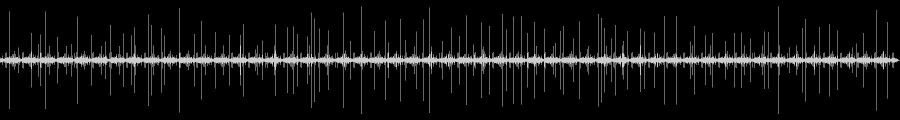 [生録音]レコード再生ノイズ01(3分)の未再生の波形
