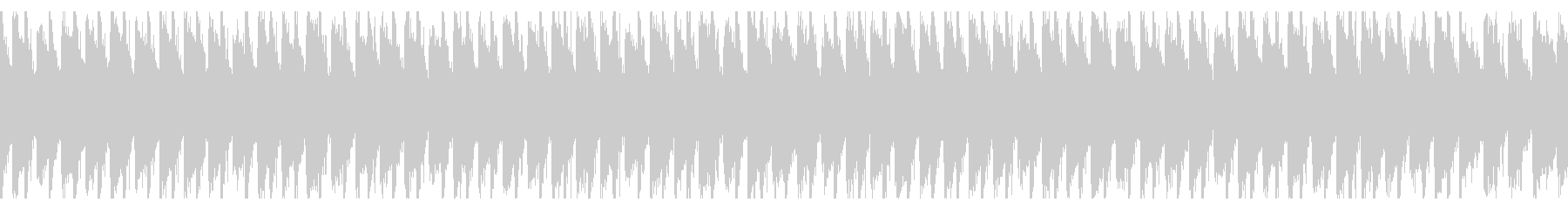 アップビートでハッピーポップ(ループ)の未再生の波形