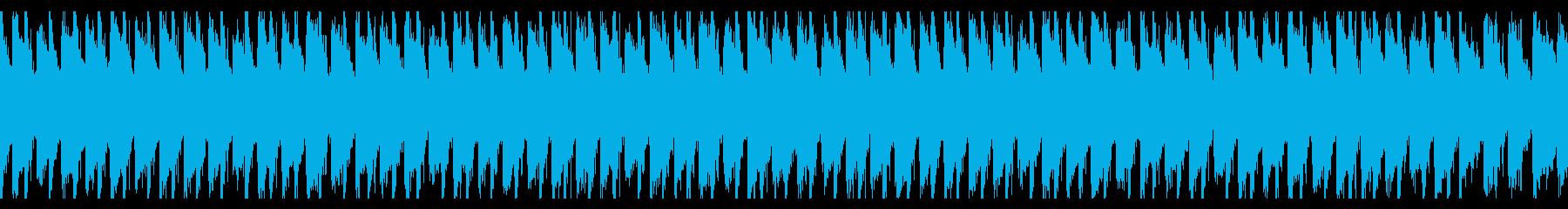 アップビートでハッピーポップ(ループ)の再生済みの波形