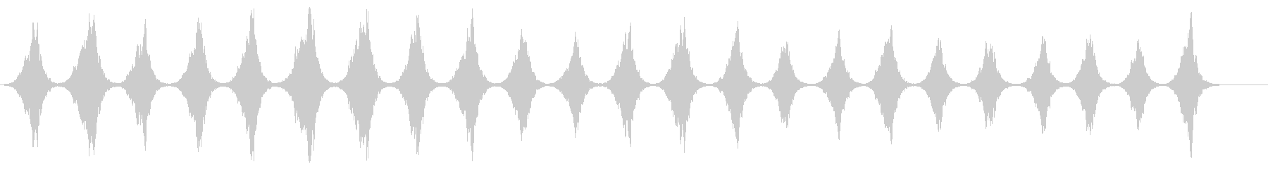 ノスタルジックなホラー現代音楽の未再生の波形