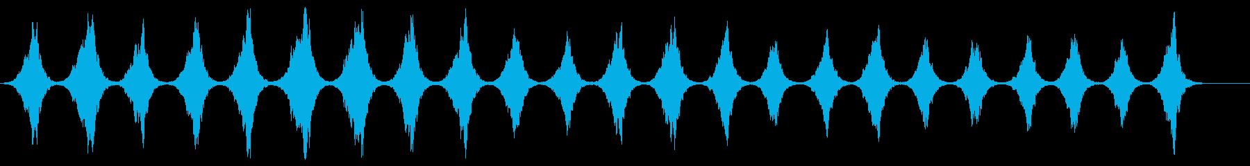 ノスタルジックなホラー現代音楽の再生済みの波形