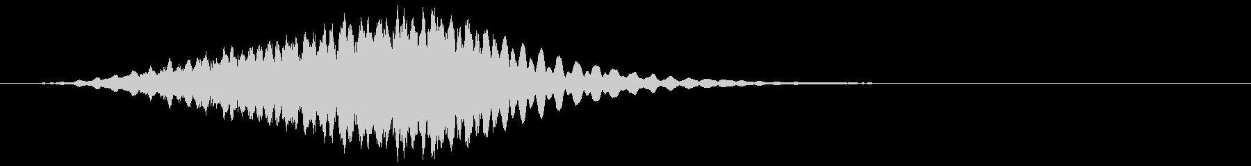 【ゲーム演出】SFX_キーンッ・・・の未再生の波形