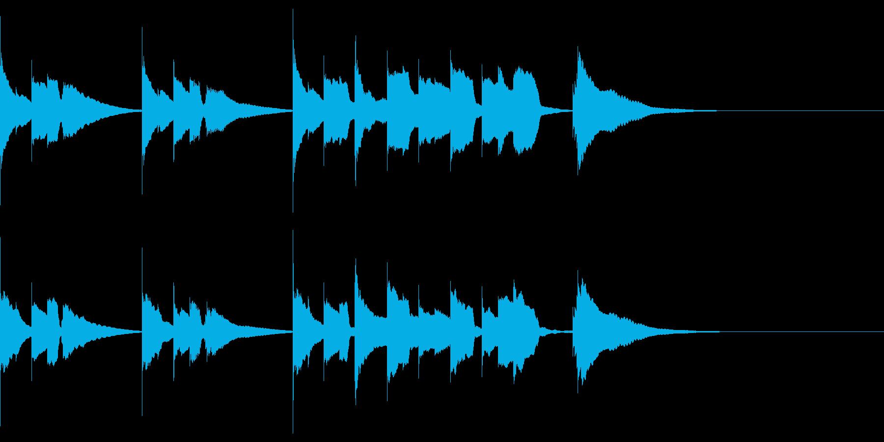 エンディング  E.ピアノソロ 切ないの再生済みの波形