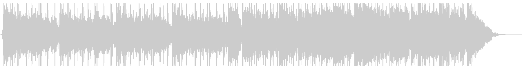 エスニックなミステリーサスペンス曲の未再生の波形
