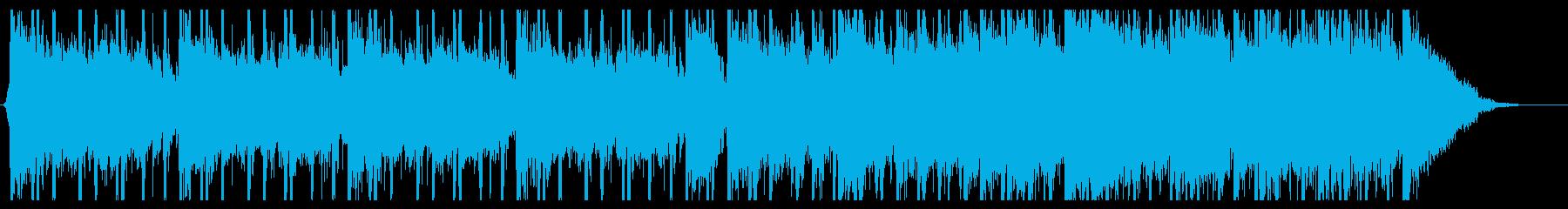 エスニックなミステリーサスペンス曲の再生済みの波形