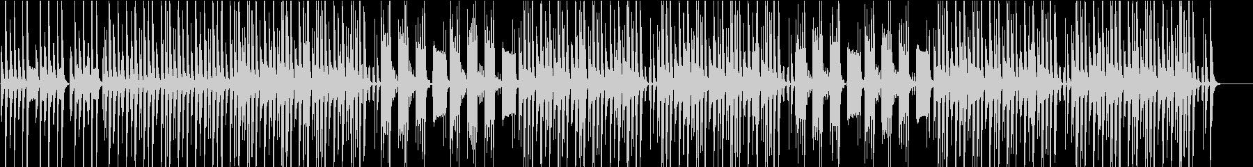 コミカル・ほのぼの・動物ハプニング映像の未再生の波形