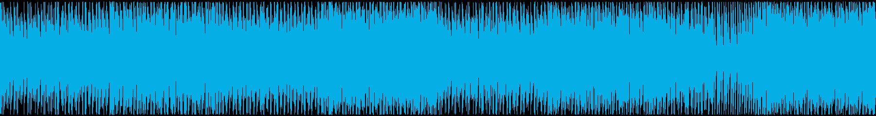すっきりさわやか!トロピカルなハウスの再生済みの波形