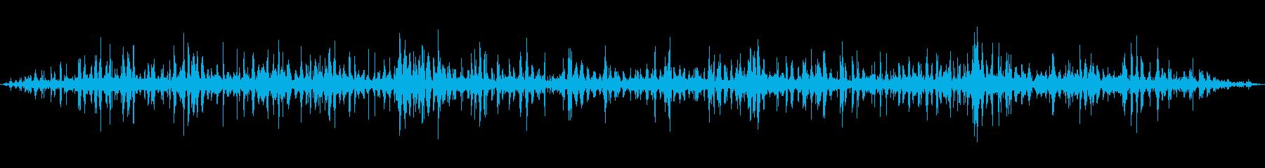 [ASMR]波打ち際の音_001の再生済みの波形