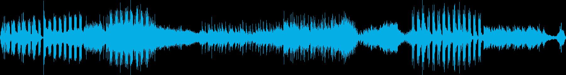 暗いアンビエント、ホラーアンダース...の再生済みの波形
