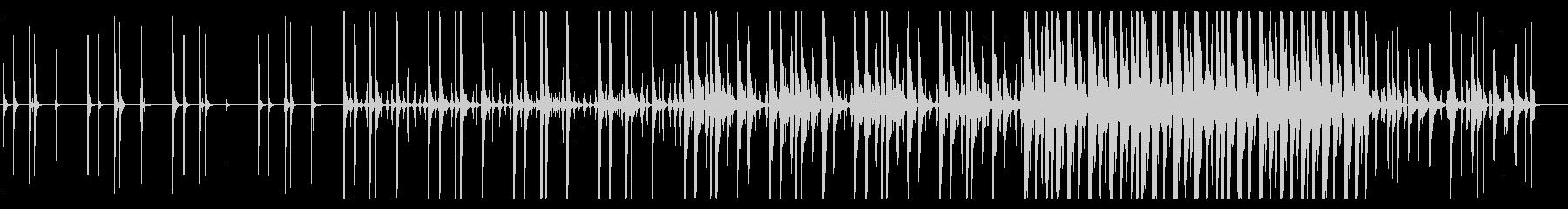 KANTハンズクラップジングル1の未再生の波形