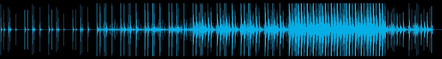 KANTハンズクラップジングル1の再生済みの波形