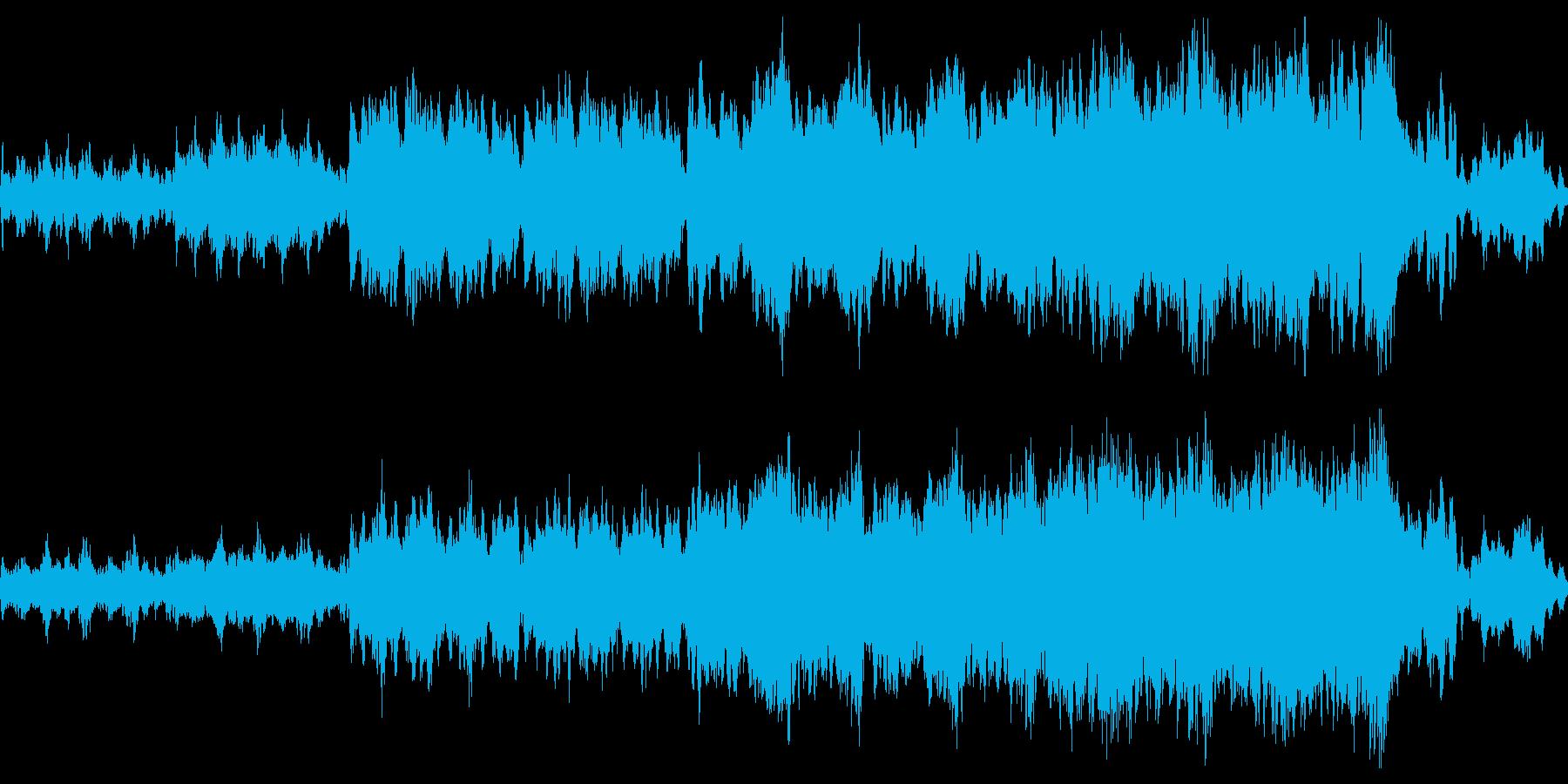 不思議/神秘/ストリングス/不気味/怖いの再生済みの波形