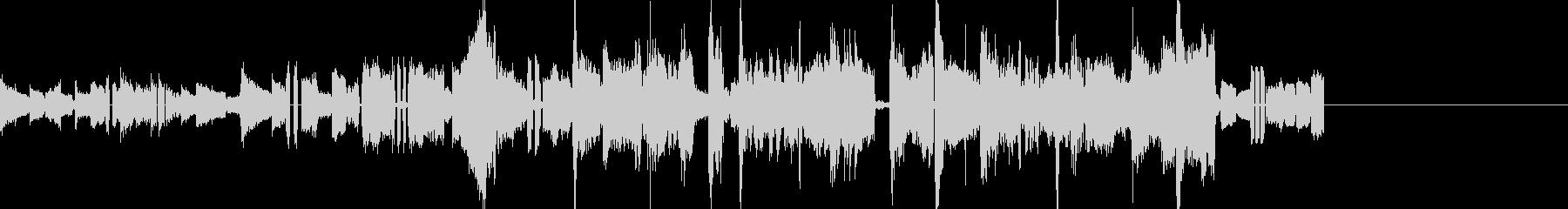 おしゃれなアコギのBGM ショートverの未再生の波形