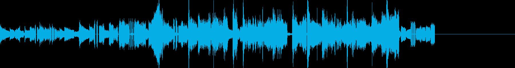 おしゃれなアコギのBGM ショートverの再生済みの波形