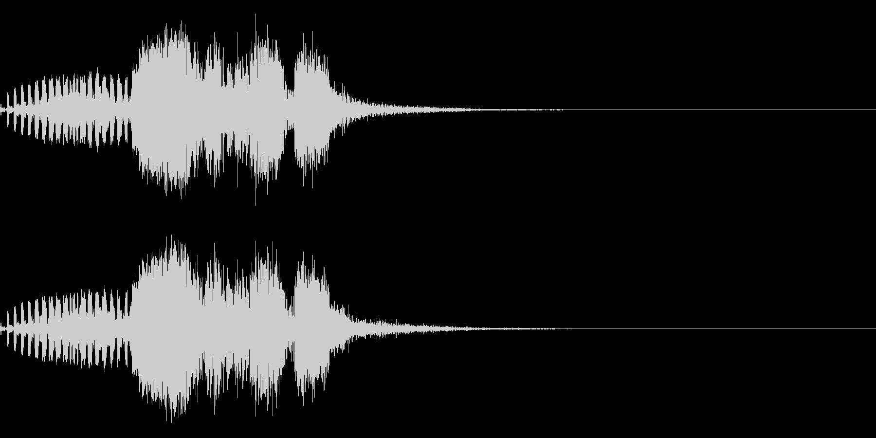 スパーク音-39の未再生の波形