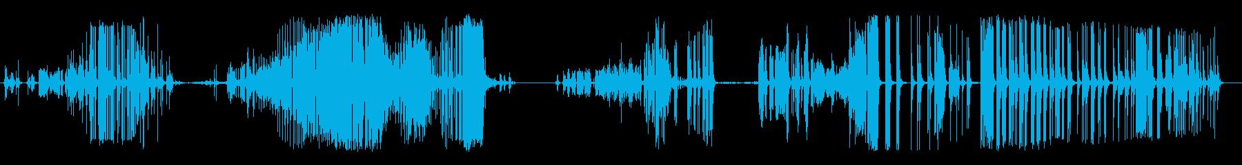 ロング、ラスパイツイストバルーンクリークの再生済みの波形