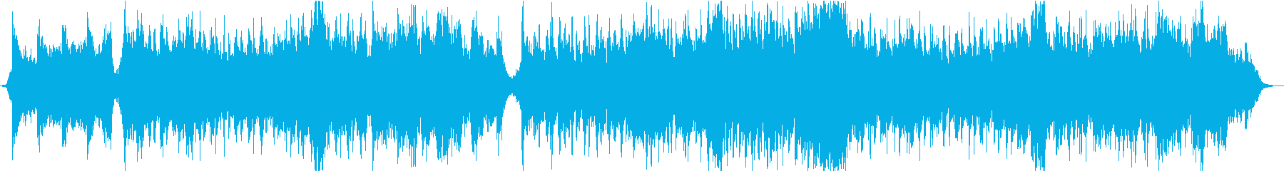 RPGのボスバトル曲(オーケストラ)の再生済みの波形