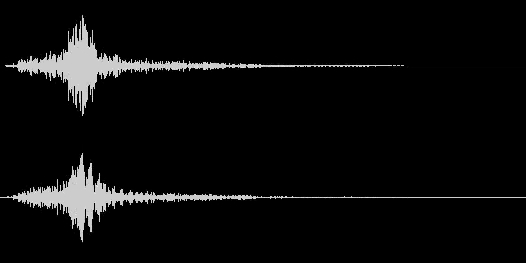 サスペンスに最適!ピアノの弦を弄ぶ音20の未再生の波形