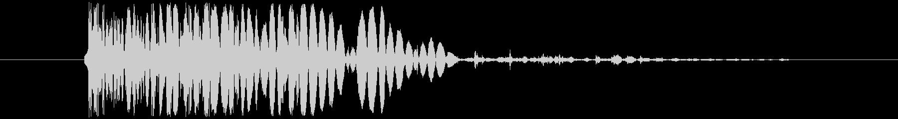 石 ビッグインパクトハード02の未再生の波形