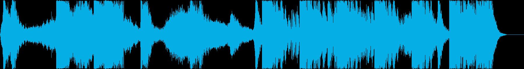 トレーラー/打楽器*インダストリアルの再生済みの波形