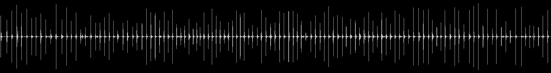 ガレキ速足低音抜き(ガレキ音協調)の未再生の波形