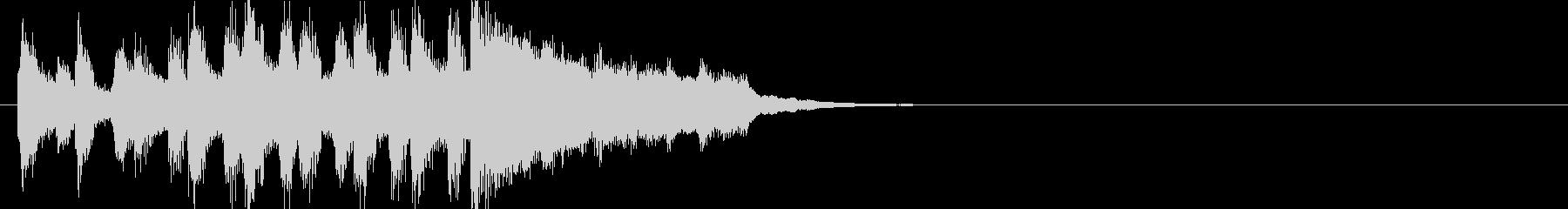 ファンファーレ 発表 イベント 表彰の未再生の波形