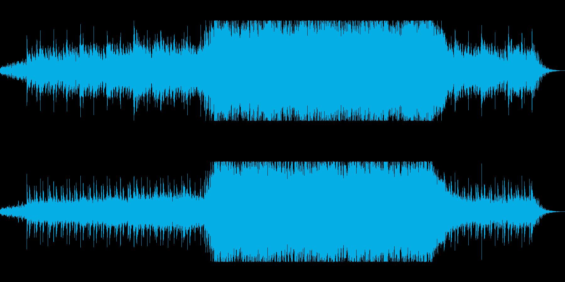 ディレイ・ギターと変拍子のニューロックの再生済みの波形
