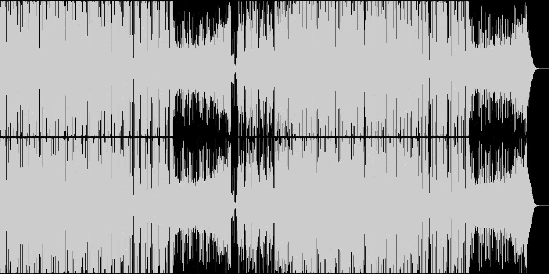 EDM トロピカル チャート メジャーの未再生の波形