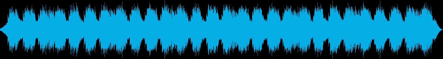 心安らぐ自然音と音楽のコラボレーションの再生済みの波形