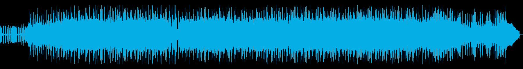 爽快でノリノリなロックポップの再生済みの波形