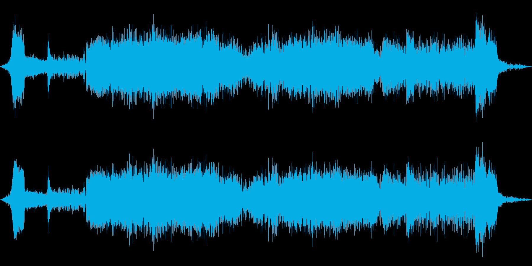 フリーズマシン:開始、実行、停止、...の再生済みの波形