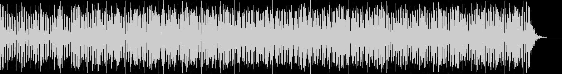 アグレッシブさのある四つ打ちバトル曲の未再生の波形