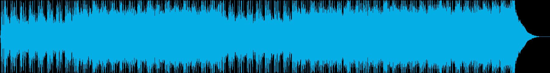 ハッピー、ロック、ポップの再生済みの波形