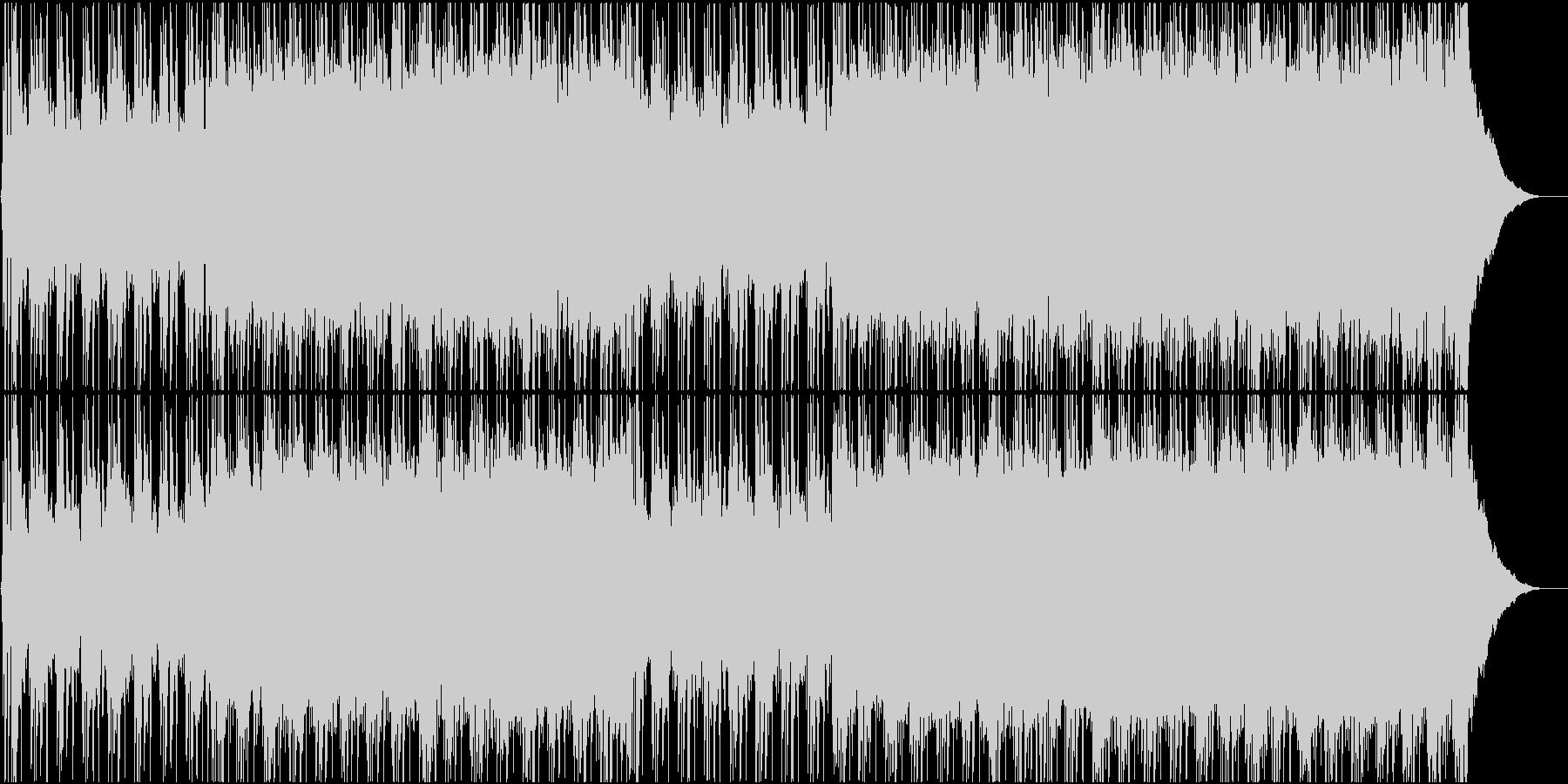 ハッピー、ロック、ポップの未再生の波形
