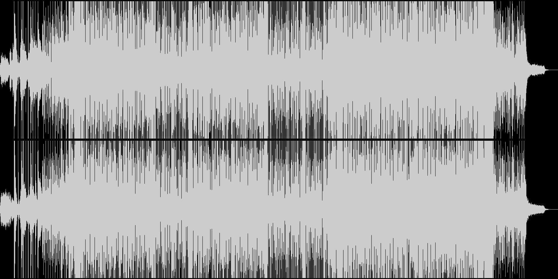 和とHipHopビートの融合。の未再生の波形