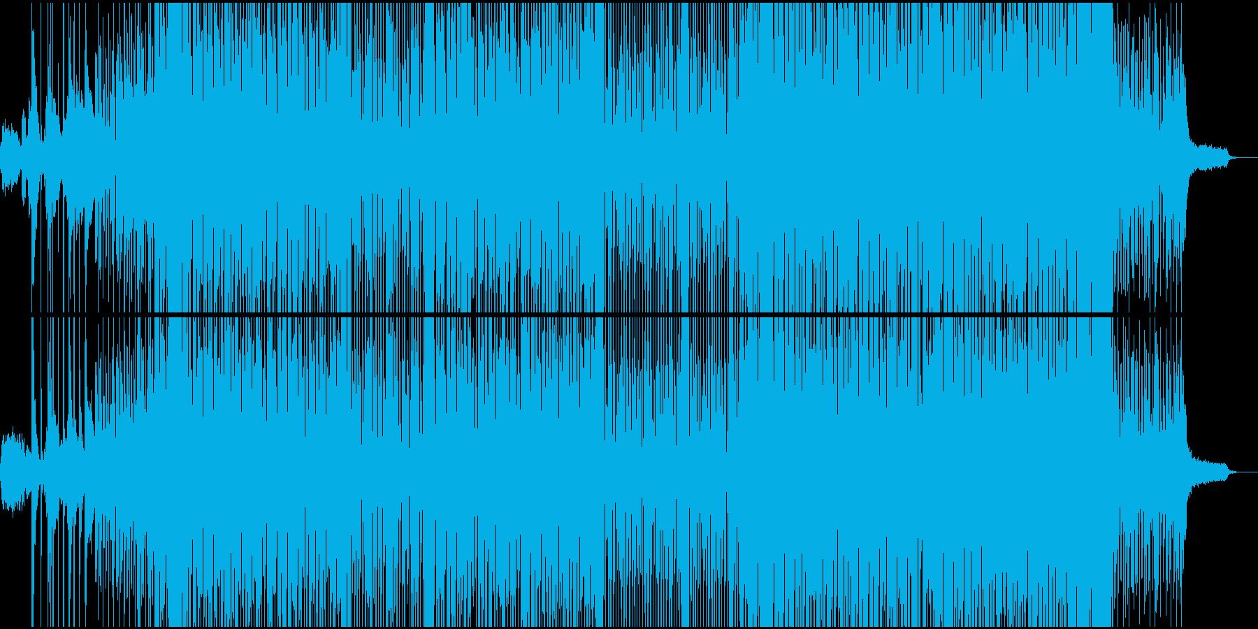 和とHipHopビートの融合。の再生済みの波形