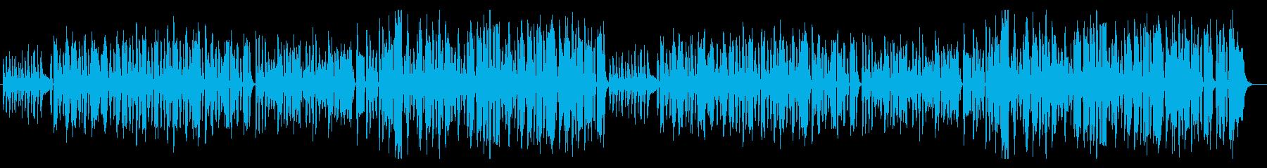ゆるくてほのぼの 可愛いおもちゃ曲の再生済みの波形