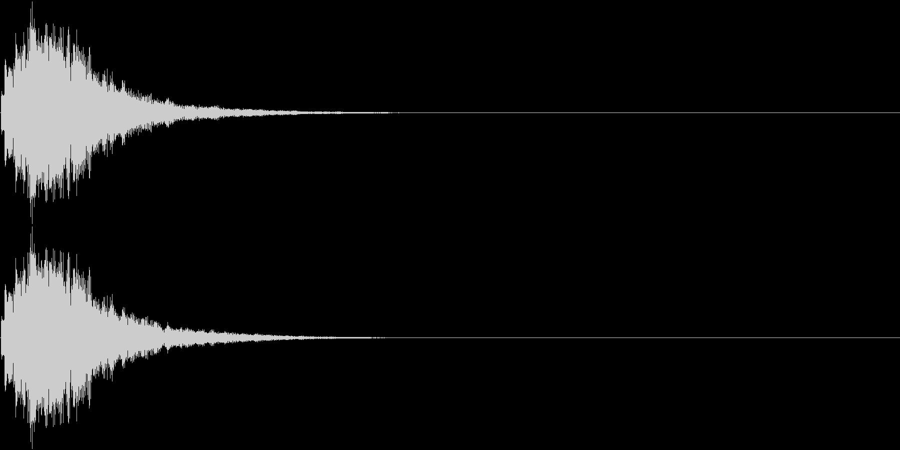 ひらめき 獲得 ゲット 入手 キラリン5の未再生の波形