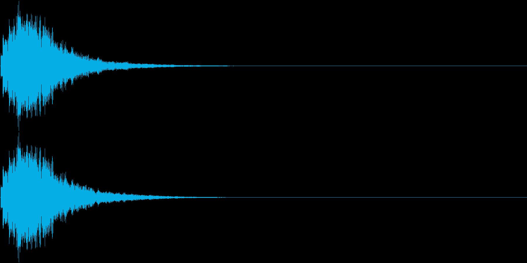 ひらめき 獲得 ゲット 入手 キラリン5の再生済みの波形